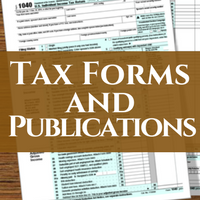 business tax forms, business, tax publications