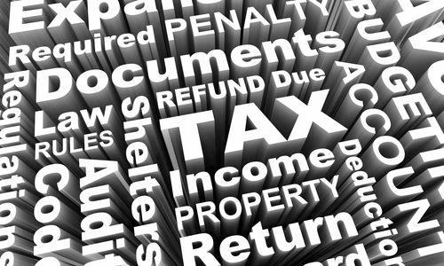 tax terms, tax problems, accounting terms, tax law