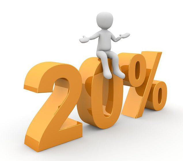 Year-End Tax Planning is not Business as usual part 2, 20%, twenty-percent, 20 percent, pass through deduction, flow-through deduction.jpg