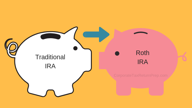 Year-end Tax Planning Is Not Business as Usual; Things You Need to Know, Traditional IRA, Roth IRA, Convert IRA